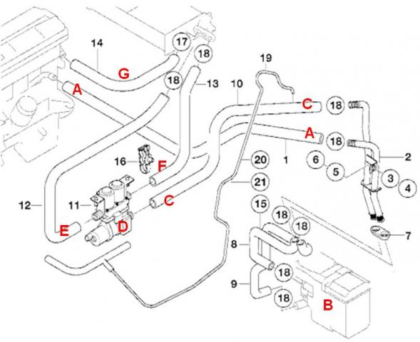 Bmw X3 Coolant Sensor Location Within Bmw Wiring And