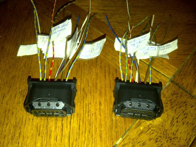 E60 Pre Lci - Lci Halogen Wiring Diagram